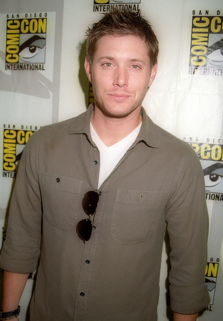 Jensen Ackles during Comic Con