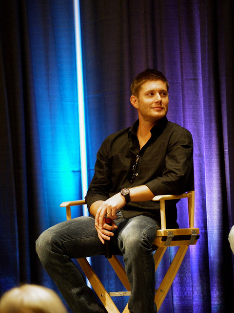 Jensen Ackles during the show