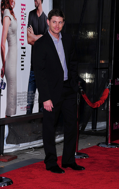 Jensen Ackles in LA during movie premiere