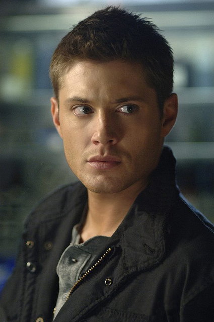 Jensen Ackles in jacket