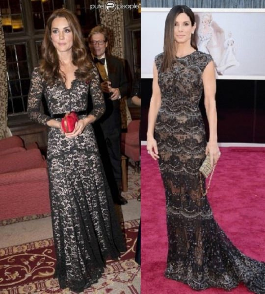 Style Battle: Kate Middleton vs Sandra Bullock
