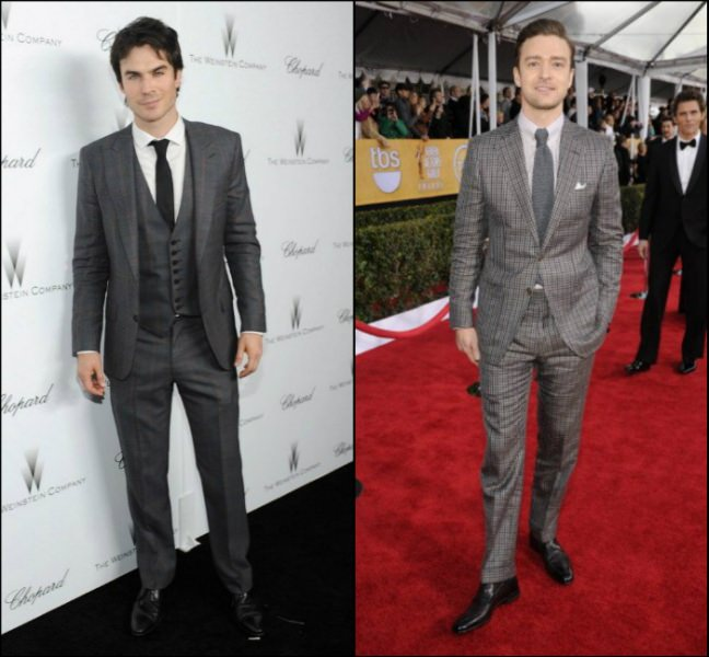 Style Battle: Ian Somerhalder vs Justin Timberlake