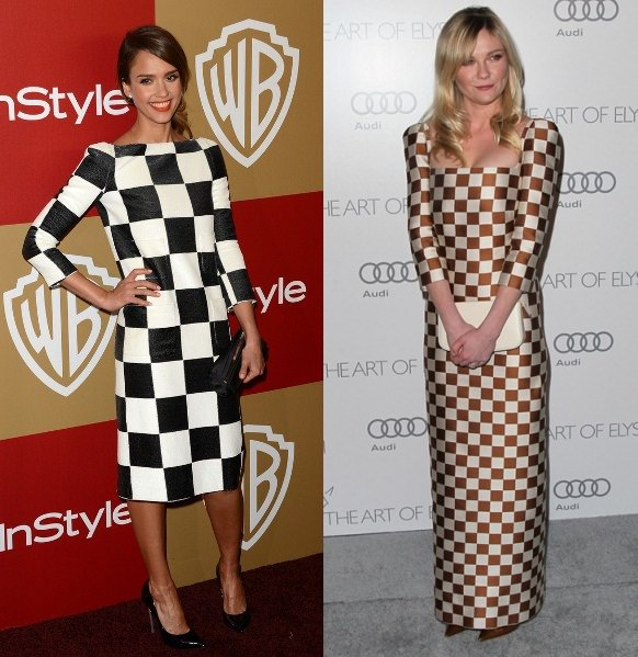 Style Battle: Jessica Alba vs Kirsten Dunst – results!