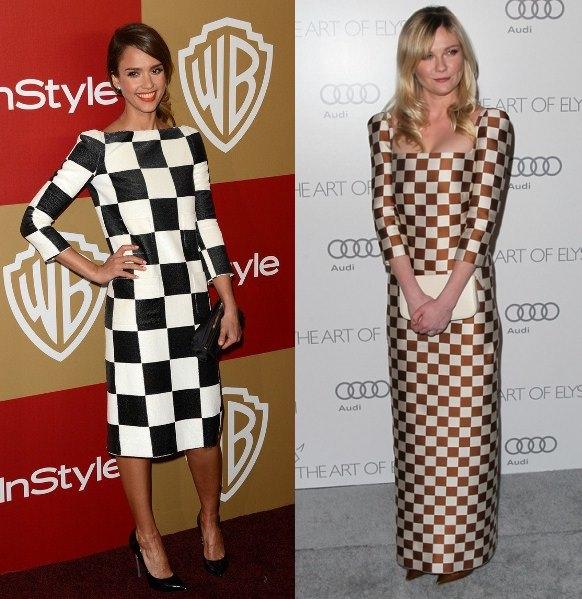 Style Battle: Jessica Alba vs Kirsten Dunst