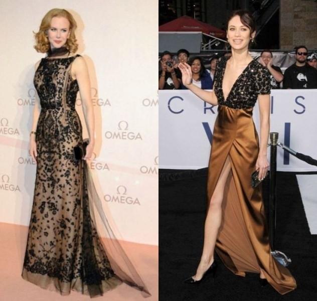 Style Battle: Nicole Kidman vs Olga Kurylenko