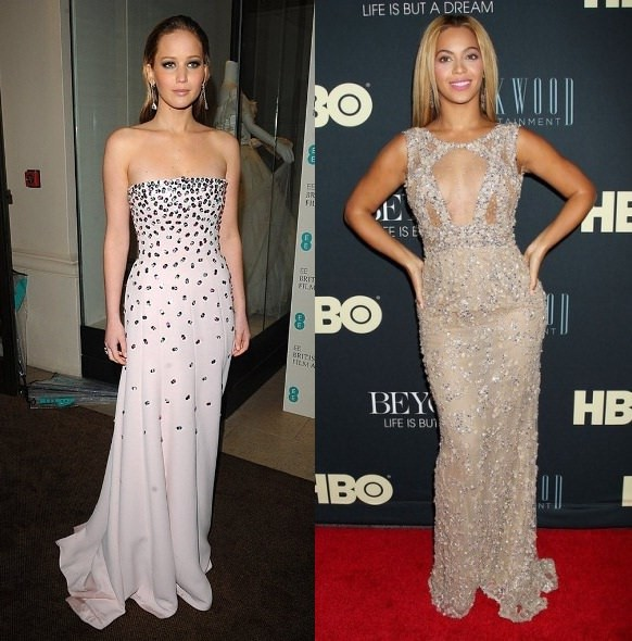 Style Battle: Jennifer Lawrence vs Beyonce