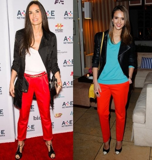 Style Battle: Demi Moore vs Jessica Alba