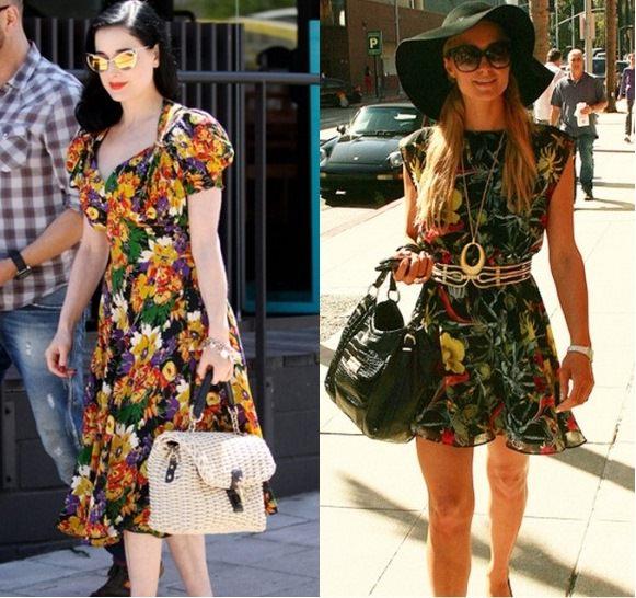 Style Battle: Dita Von Teese vs Paris Hilton