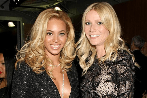 Gwyneth Paltrow and Beyoncé Knowles