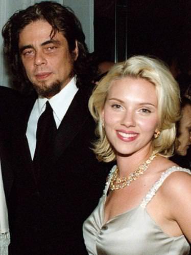 Scarlett Johansson and Benicio Del Torro