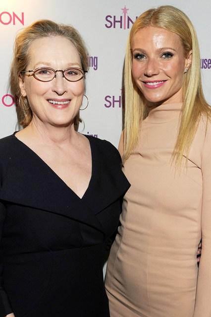Gwyneth Paltrow and Meryl Streep