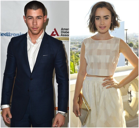 Is Nick Jonas Really Dating Lily Collins
