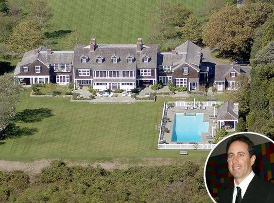 Jerry Seinfeld's East Hampton estate