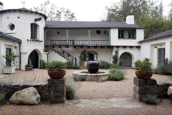 Reese Witherspoon's home in Ojai, California