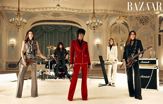 Supers Play Duran Duran in New Music Video and BAZAAR UK Editorial